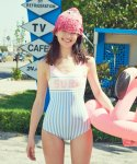 SURF ONEPIECE SWIMSUIT_LIGHT BLUE