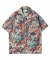 M#1312 flower graphic shirt
