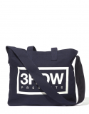 써드위브(THIRDWEAVE) BOX LOGO 2WAY BAG / NAVY
