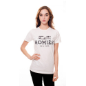 U.S.A MERCHADISING HOMIES NEW YORK TEE WHITE
