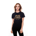 U.S.A MERCHADISING Homies New York Tee black/gold