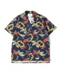 제로() Maldives Hawaiian Shirts (Navy)