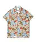 제로() Maldives Hawaiian Shirts (Beige)