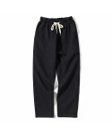 제로() Linen Fatigue Pants (Black)