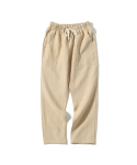 제로() Linen Fatigue Pants (Beige)