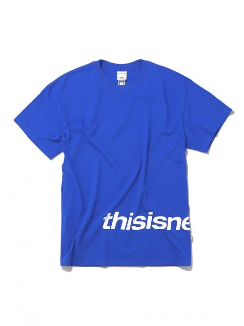 디스이즈네버댓(THISISNEVERTHAT) H-SP-Logo Tee R.Blue