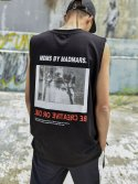 BACKPRINTING SLEEVELESS_BLACK