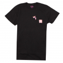 [허프] HUF X PINK PANTHER POCKET TEE  [HUFTS75302-BLK]