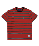 DC7S LUCCI STRIPE TEE (RED)