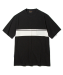 유니폼브릿지(UNIFORM BRIDGE) pocket line tee black