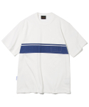 유니폼브릿지(UNIFORM BRIDGE) pocket line tee off white