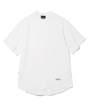 유니폼브릿지(UNIFORM BRIDGE) basic sweat pocket tee off white