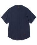 유니폼브릿지(UNIFORM BRIDGE) basic sweat pocket tee navy