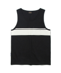 유니폼브릿지(UNIFORM BRIDGE) pocket line tank top black