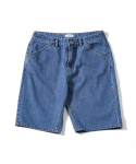 제로() Summer Denim Easy Shorts (Vintage Blue)