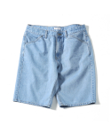 제로() Summer Denim Easy Shorts (Bleach Indigo)