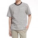 플랙(PLAC) Basic Stripe Pocket T-shirt_BK (PWOE2RSR16M0C1)