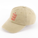웨스트 워드 캘리포니아(WESTWARDCALIFORNIA) WWC Like S**t Ballcap (Beige)