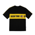 베테제(VETEZE) Retro Side Point T-shirt (Big Logo) - BK