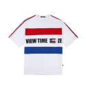 베테제(VETEZE) Retro Side Point T-shirt (Big Logo) - WH