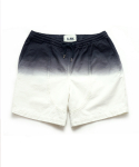 OVERDYED GRADATION SHORTS [WHITE]