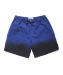 OVERDYED GRADATION SHORTS [BLUE]