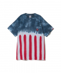 퍽트 에스에스디디(FUCT SSDD) FUCT SSDD / STAR AND STRIPES TIE DYE TEE / MULTI