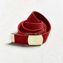 로스코(ROTHCO) WEB BELT (RED/GOLD)