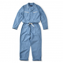 17SS JUMP SUIT BLUE CHAMBRAY