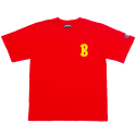 뱅크투브라더스(BANK2BROTHERS) B.C.C.L TEAM2 B SHIRTS (RED)