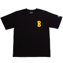 뱅크투브라더스(BANK2BROTHERS) B.C.C.L TEAM2 B SHIRTS (BLACK)