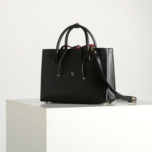 [조셉앤스테이시] Stacey Tote Medium Rich Black
