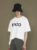 엔조 블루스(ENZO BLUES) ENZO T-SHIRT (WHITE)