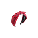 오뜨르 뒤 몽드(AUTOUR DU MONDE) PAISLEY RIBBON HAIRBAND (RED)