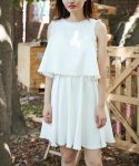러브미백(LOVE ME BACK) LINEN MESSY DRESS