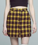 아파트먼트(APARTMENT) Schoolment Skirt - Yellow