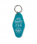 PARADISE YOUTH CLUB / MOTEL KEYCHAIN / MINT