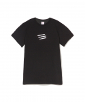 파라다이스 유스 클럽(PARADISE YOUTH CLUB) PARADISE YOUTH CLUB / POWDER SS TEE / BLACK