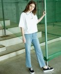 W_LIGHT WIDE DENIM PANTS