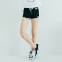 모티브스트릿(MOTIVESTREET) SIDELINE SHORT PANTS BLACK