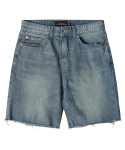 모디파이드() M#1320 1/2 square conemills washed shorts