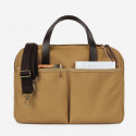 Vintage Brief Bag Super Oxford_Beige