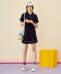 러브이즈트루(LUV IS TRUE) RE SET SKIRT(NAVY)