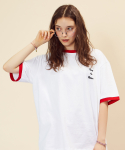 러브이즈트루(LUV IS TRUE) (UNISEX)RE ROYAL T-SHIRT(RED)