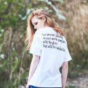 제너럴코튼(GENERAL COTTON) THE BIBLE T (WHITE/BLACK)