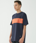 인사일런스(INSILENCE) Color Block Tee (Navy)