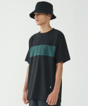 인사일런스(INSILENCE) Color Block Tee (Black)