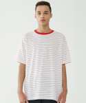 인사일런스(INSILENCE) Narrow Stripe Tee (Red)