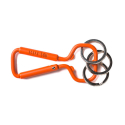 허프(HUF) HUF BOTTLE OPENER CARABINEER ORANGE
