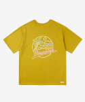 레이어 유니온(LAYER UNION) CP NEON S/S TEE MUSTARD